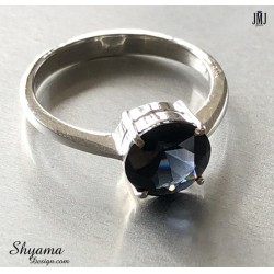 Handmade Ring made with Natural Spinel  Gemstone and 925 Sterling Silver