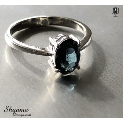 Handmade Ring made with SriLanka Natural Spinel and 925 Sterling Silver