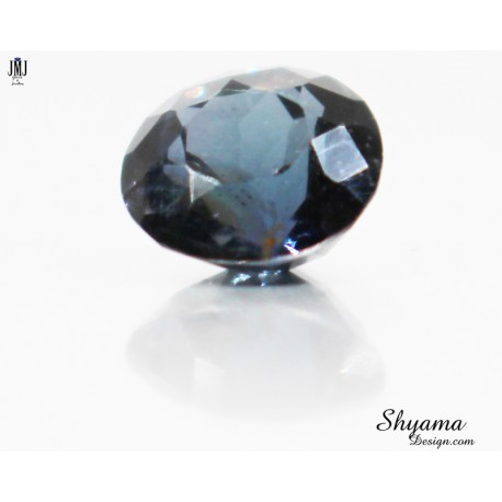 10058 Natural Faceted Greenish Blue Spinel round shape