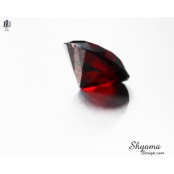 Natural  Faceted Dark Red Garnet Mixed Round shape