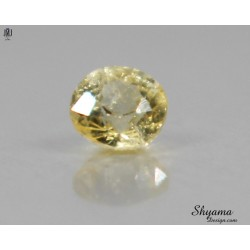10138 Natural Faceted Vivid Light Yellow Sapphire