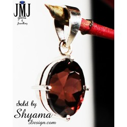 Handmade Natural Zircon Gemstone Pendent made with 925 Sterling Silver
